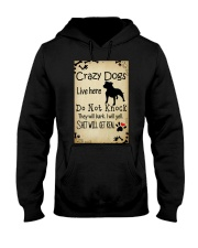 Crazy Dogs - Paw Hooded Sweatshirt thumbnail