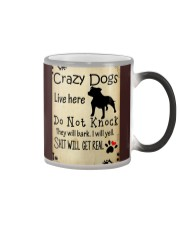 Crazy Dogs - Paw Color Changing Mug thumbnail