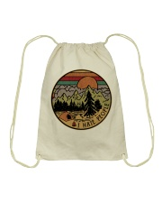 I hate people-Camping Drawstring Bag thumbnail