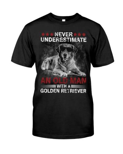 Golden Retriever Never Underestimate