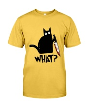 what Classic T-Shirt front