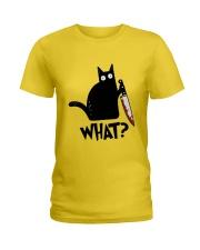 what Ladies T-Shirt thumbnail