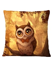 owl Square Pillowcase front