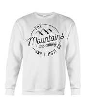 The Mountains are calling and I must go Crewneck Sweatshirt thumbnail