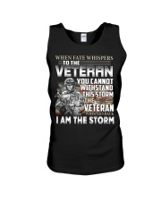 I am the storm - veteran Unisex Tank thumbnail