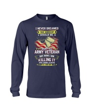 Grumpy old army veteran Long Sleeve Tee thumbnail