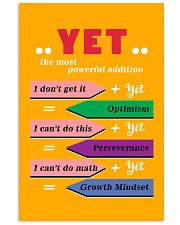 YET the most powerful addition 24x36 Poster front