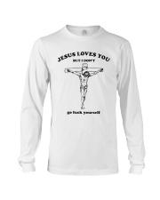 Jesus loves you But I don't Go  Long Sleeve Tee thumbnail