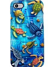 SEa Turtle PC  Phone Case i-phone-8-case
