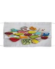 FM ABC Cloth face mask front