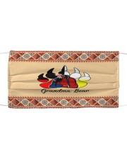 FM Grandma Bear Cloth face mask front