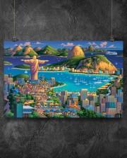 RIO DE JANEIRO POSTER 17x11 Poster aos-poster-landscape-17x11-lifestyle-12