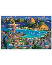 RIO DE JANEIRO POSTER 17x11 Poster front
