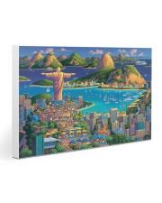 RIO DE JANEIRO POSTER Gallery Wrapped Canvas Prints tile
