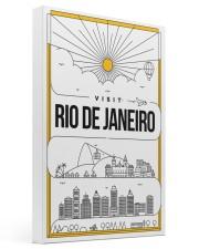 Visit Rio de Janeiro 16x24 Gallery Wrapped Canvas Prints thumbnail