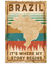 BRAZIL STORY BEGINS 2 11x17 Poster thumbnail