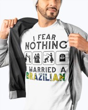 I FEAR NOTHING -I MARRIED A BRAZILIAN Classic T-Shirt apparel-classic-tshirt-lifestyle-front-93