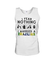 I FEAR NOTHING -I MARRIED A BRAZILIAN Unisex Tank thumbnail