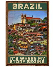 BRAZIL IT'S WHERE MY STORY BEGINS 1 24x36 Poster front