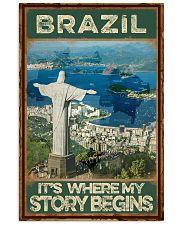 BRAZIL STORY BEGINS 11x17 Poster thumbnail