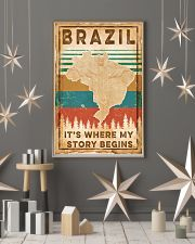 BRAZIL MAP 11x17 Poster lifestyle-holiday-poster-1