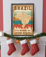 BRAZIL MAP 11x17 Poster lifestyle-holiday-poster-4
