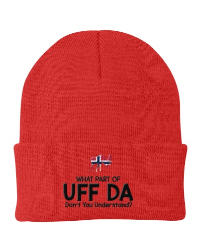 WHAT PART OF UFF DA NORWEGIAN EXCLUSIVE
