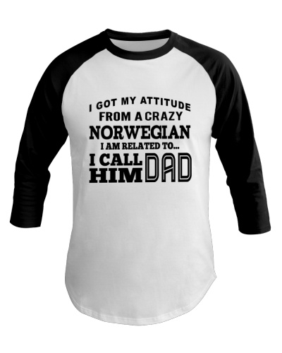 ATTITUDE FROM NORWEGIAN DAD