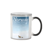 NORWAY - A TRUE WINTER WONDERLAND Color Changing Mug thumbnail
