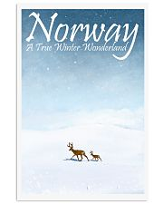 NORWAY - A TRUE WINTER WONDERLAND 11x17 Poster front