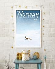 NORWAY - A TRUE WINTER WONDERLAND 11x17 Poster lifestyle-holiday-poster-3