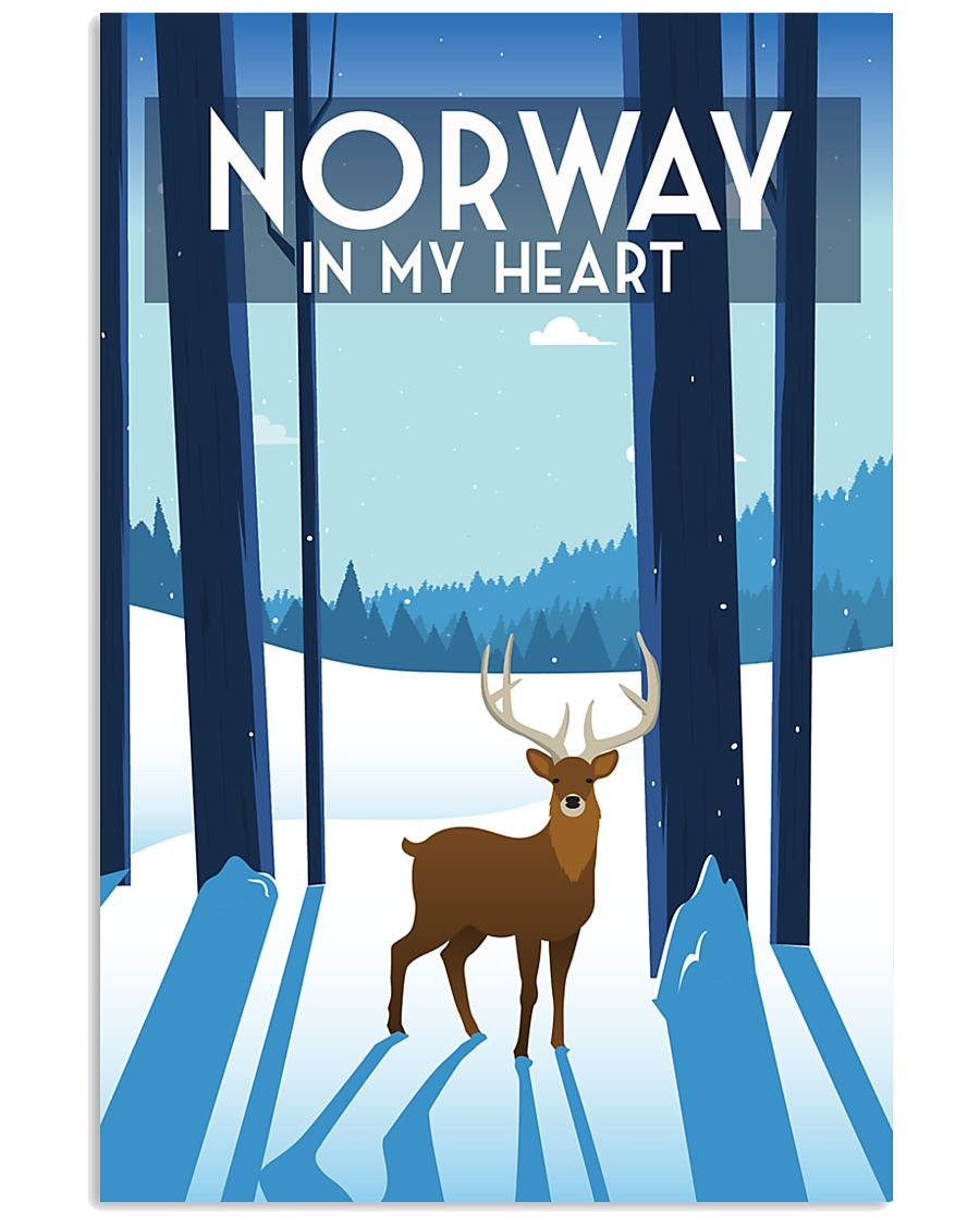 NORWAY IN MY HEART 11x17 Poster
