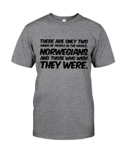 NORWEGIANS TWO KINDS OF PEOPLE Classic T-Shirt front