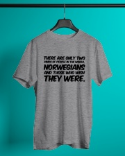 NORWEGIANS TWO KINDS OF PEOPLE Classic T-Shirt lifestyle-mens-crewneck-front-3