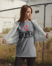 SURROUND YOURSELF WITH LEFSE Classic T-Shirt apparel-classic-tshirt-lifestyle-07