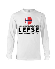 SURROUND YOURSELF WITH LEFSE Long Sleeve Tee thumbnail
