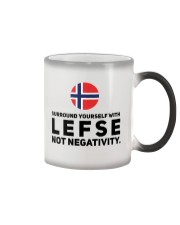 SURROUND YOURSELF WITH LEFSE Color Changing Mug thumbnail