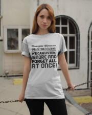 NORWEGIAN WOMEN MULTITASKING Classic T-Shirt apparel-classic-tshirt-lifestyle-19