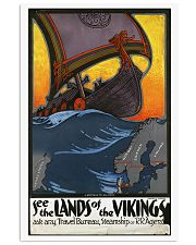 SEE THE LANDS OF THE VIKINGS VINTAGE TRAVEL POSTER 11x17 Poster front