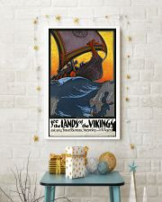 SEE THE LANDS OF THE VIKINGS VINTAGE TRAVEL POSTER 11x17 Poster lifestyle-holiday-poster-3