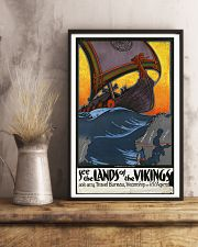 SEE THE LANDS OF THE VIKINGS VINTAGE TRAVEL POSTER 11x17 Poster lifestyle-poster-3