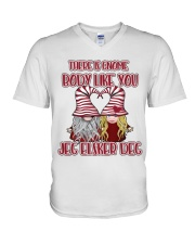 THERE IS GNOME BODY LIKE YOU V-Neck T-Shirt thumbnail