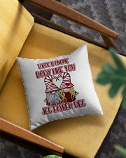 THERE IS GNOME BODY LIKE YOU Square Pillowcase aos-pillow-square-front-lifestyle-07
