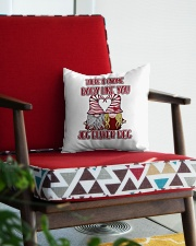 THERE IS GNOME BODY LIKE YOU Square Pillowcase aos-pillow-square-front-lifestyle-09