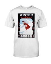 WINTER IN NORWAY VINTAGE 1907 Classic T-Shirt thumbnail