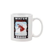 WINTER IN NORWAY VINTAGE 1907 Mug thumbnail