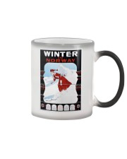 WINTER IN NORWAY VINTAGE 1907 Color Changing Mug thumbnail