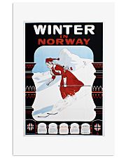WINTER IN NORWAY VINTAGE 1907 11x17 Poster front