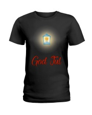 GOD JUL LANTERN Ladies T-Shirt thumbnail