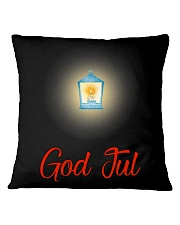 GOD JUL LANTERN Square Pillowcase thumbnail